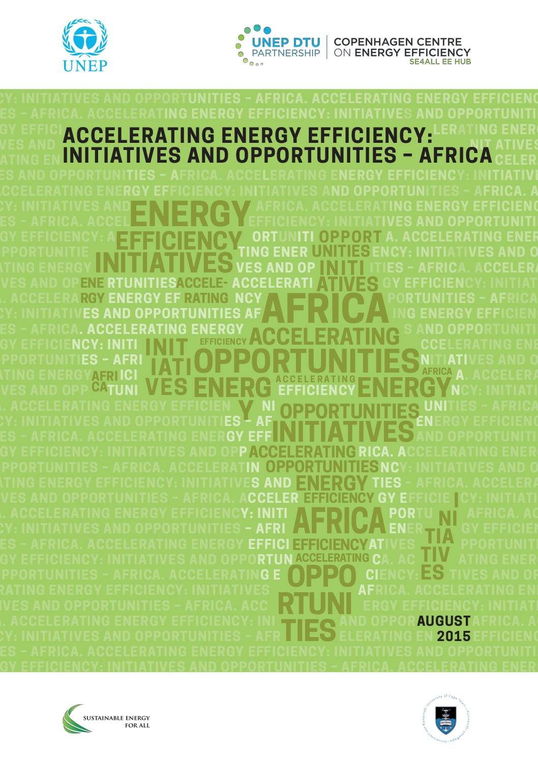Accelerating Energy Efficiency: Initiatives and Opportunities – Africa