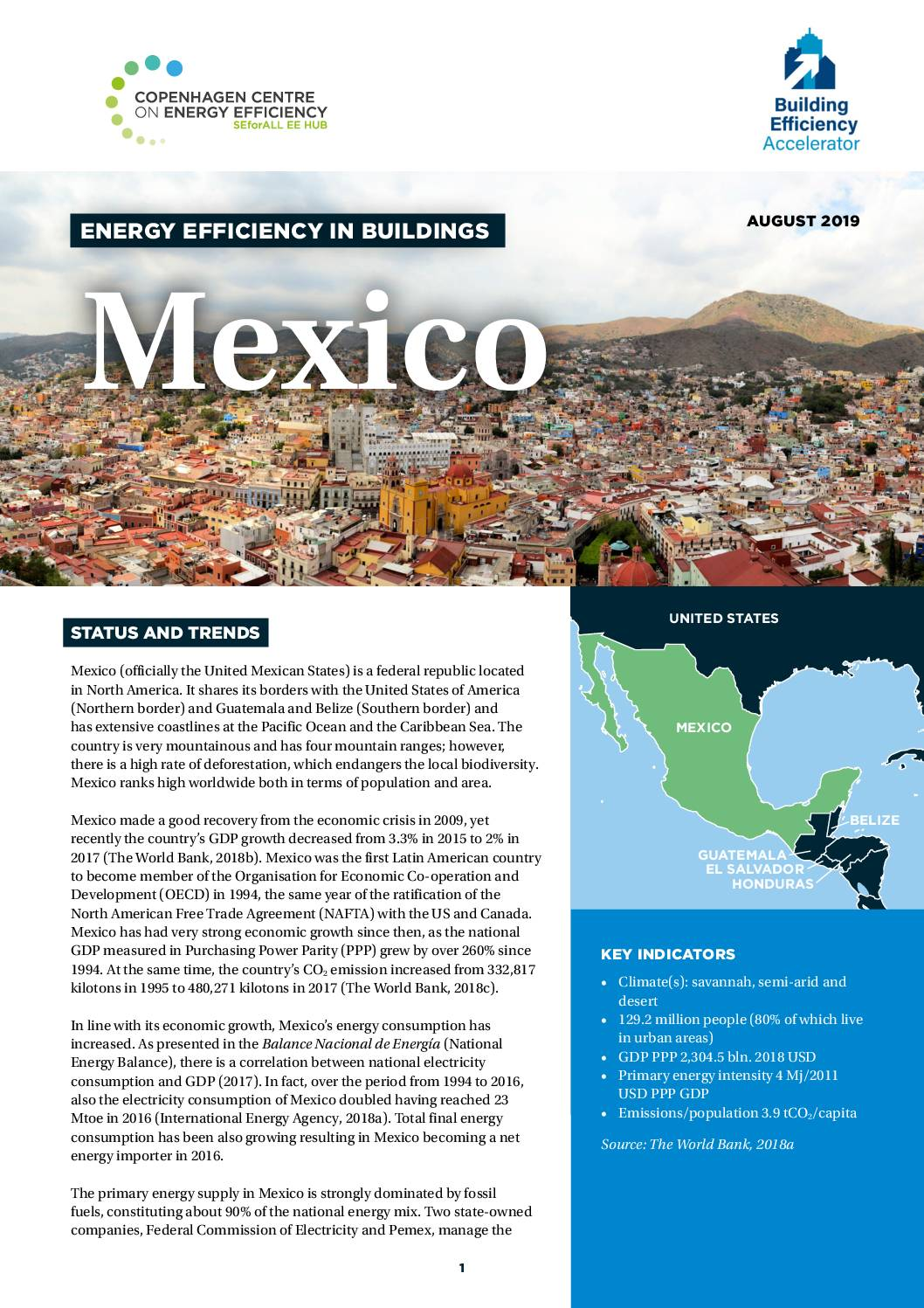 Energy Efficiency in Buildings; Mexico