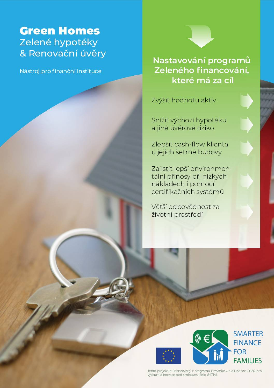 Green Mortgages & Green Renovation Loans: A Toolkit for Financial Institutions (CZ)