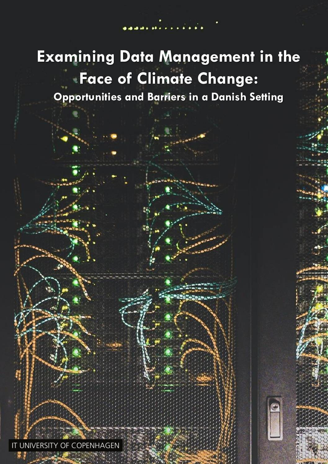 Examining Data Management in the Face of Climate Change